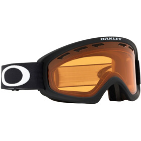 Oakley O Frame 2.0 Pro XS Lunettes de ski Adolescents, matte black/persimmon & dark grey